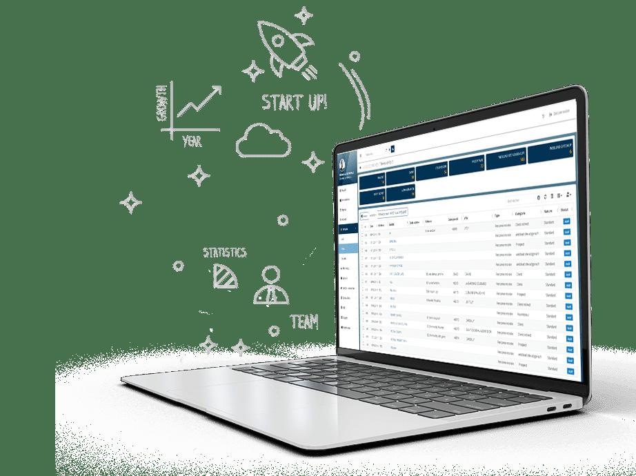 eSolice, la solution éco-conçue de pilotage d'entreprise